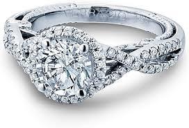 twisted shank engagement ring verragio twist shank engagement ring ins 7070r