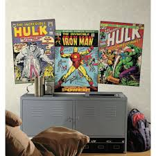 Comic Book Room Decor Rmk1661slg Hulk With Wolverine Peel U0026 Stick Comic Book Cover Wall