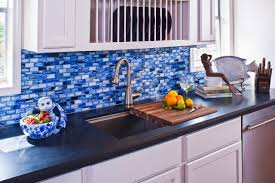15 stunning kitchen backsplashes diy network blog made remade bright blue mosaic tiles