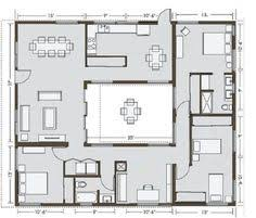courtyard homes small house plans courtyard ranch houses house plans вђ home