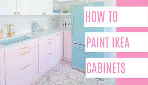 how to make paint stick to cabinets how to paint ikea cabinets at home with