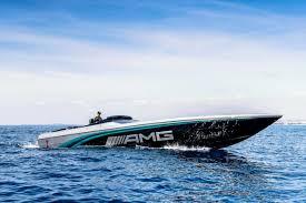 bugatti boat hamilton helps debut cigarette racing 50 marauder amg monaco concept