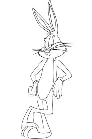 bugs bunny coloring free printable coloring pages