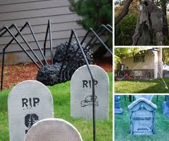 halloween cemetery fence ideas cool halloween decorations