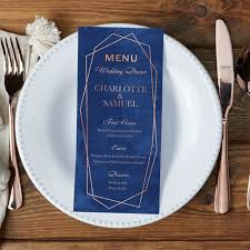 wedding menu cards wedding menu cards â beautiful custom wedding menus vistaprint
