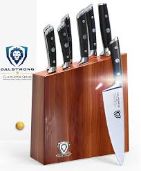 amazon com dalstrong knife set block gladiator series knife set