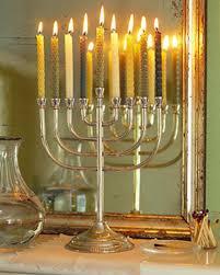 menorah candle hanukkah candles and menorahs martha stewart