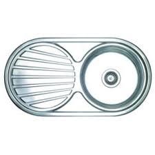Wickes Single Round Bowl Reversible Kitchen Sink Stainless Steel - Kitchen sink co