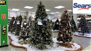all trees with prices at sears shopping