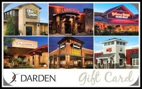 discounted restaurant gift cards 50 darden restaurants gift card only 40 valid at olive garden