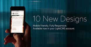 new features 10 new responsive design templates and more lightcms
