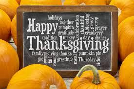 my thanksgiving attitude of gratitude