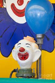 clown balloon balloon clown carnival photograph by bryan mullennix