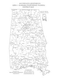 Perry Florida Map by Districts Info The Official Tri District Intergroup Aa Website