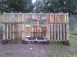 Build A Backyard Fort How To Build A Simple Chicken Coop Out Of Pallets With Simple