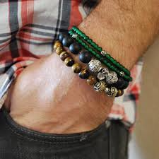 bracelet fashion men images Bracelet rainbow minerals jpg