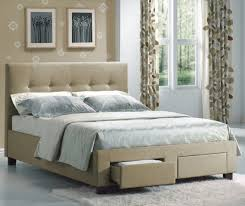 Bed Frame Australia Uncategorized Black Upholstered Headboard Within Stylish Bedroom