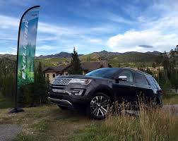 Ford Explorer All Black - first drive the all new 2016 ford explorer platinum is all about