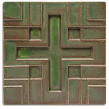 Motawi Tile Backsplash by Frank Lloyd Wright Installation Tile Collection Motawi Tileworks