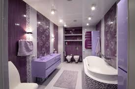 lavender bathroom ideas cool oasis lilac and butterflies bathroom shower curtain purple