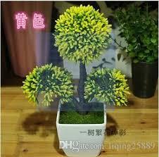 2017 simulation of false jade bonsai tree trees mint green plants