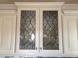 Types Of Glass For Kitchen Cabinets Cabinet Types Of Glass For Cabinet Doors Best Leaded Glass