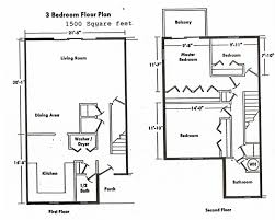 Two Bedroom Floor Plans Apartments Two Bedroom Homes Small Scale Homes Square Foot Two