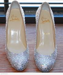 Are Christian Louboutins Comfortable Christian Louboutin Simple Strassed In Clear Swarovski Crystal