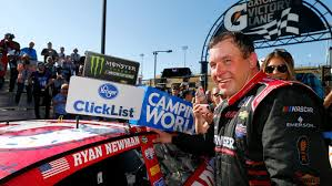 Red Flag Nascar Newman Wins Nascar Cup Race At Phoenix By Skipping Late Pit Stop