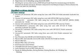 Machine Operator Sample Resume by Cnc Machine Operator Sample Resume Related Resume Templates Cnc