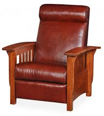 Mission Style Rocking Chair Mission Style Upholstered Furniture In Oak Maple Or Cherry