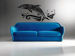 wall mural decals that boost your walls jen joes design image of dolphin wall mural decals