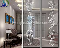 Decorative Shower Doors Etched Glass Shower Doors In Bonita Springs Fl Regarding Panels