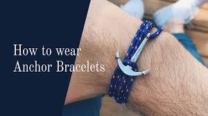 leather wrap anchor bracelet images How to wear an anchor bracelet jpg