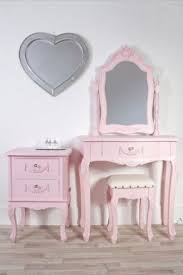 childrens dressing tables with mirror and stool a beautiful shabby chic pink girls dressing table swing mirror stool