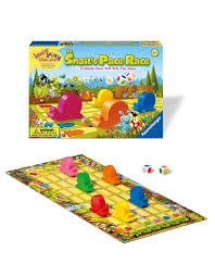 amazon com ravensburger snail u0027s pace race children u0027s game
