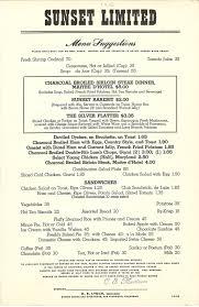 southern pacific menus u2014 texas compound
