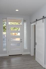 Barn Doors Houston by Entry Door Coded 2585 With Sidelights And Toplight Barn Doors
