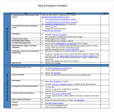 sample new hire checklist template involve business users to
