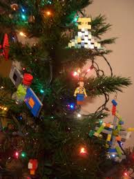 2010 lego christmas tree ornaments estudio arbitrario