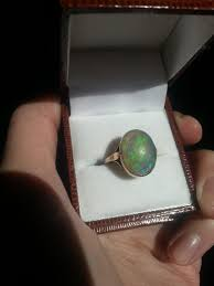 black opal mens ring opal care for opals and opal jewelry