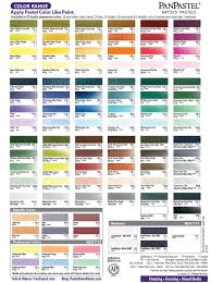 color chart paint draw blend