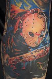 friday the 13th tattoo jason voorhees tattoos pinterest 13