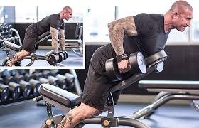 Workouts With A Bench Jim Stoppani U0027s Back And Fourth Back Workout