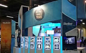 photo booth las vegas skyline exhibits las vegas trade show displays services