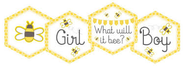 what will it bee baby shower bee gender reveal baby shower printable cupcake toppers tag
