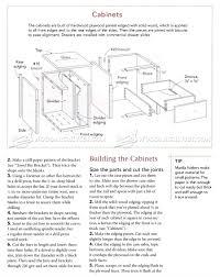 kitchen furniture plans kitchen work station plans woodarchivist
