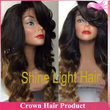 pictures of black ombre body wave curls bob hairstyles wholesale short ombre human hair wig blonde two tone bob wig ombre