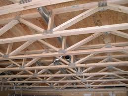 flat roof trusses design roofing decoration