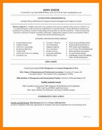 Entry Level Accounting Job Resume 5 Entry Level Accounting Resume Doctors Signature